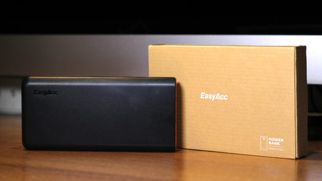 Recensione power bank EasyAcc QC 3.0 20000 mAh