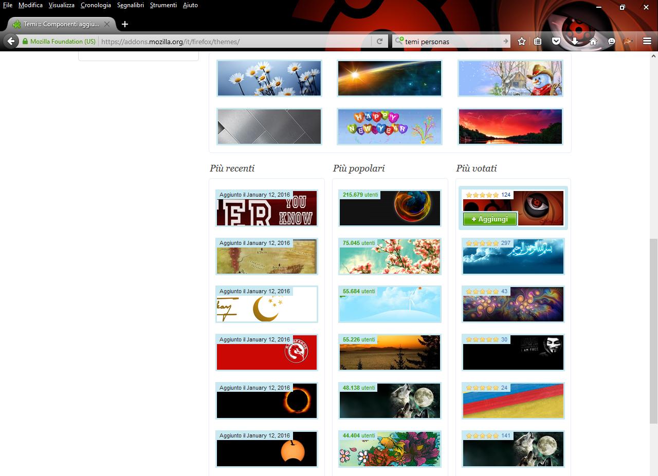 Google themes mozilla -  Https Addons Mozilla Org It Firefox Themes Troverai Altri Temi Da Installare E Che Potrai Cambiare In Qualsiasi Momento Tu Voglia Poich Ogni Tema