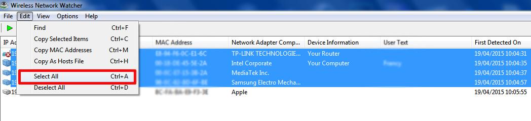 Controlla chi collegato alla tua rete domestica con for Software di progettazione domestica moderna