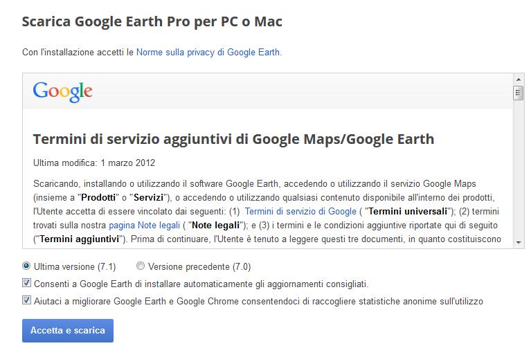 scaricare aggiornamento google chrome gratis