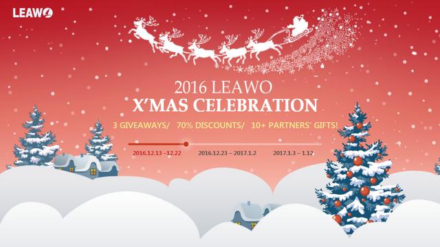Promozioni di Natale: Leawo lancia TunesCopy con uno sconto del 75% e fornisce gratuitamente iTransfer