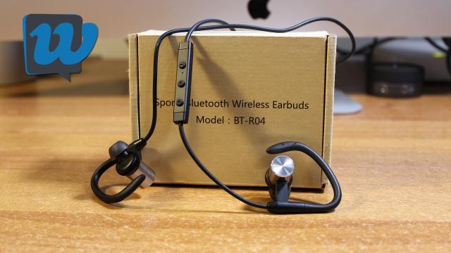 Recensione auricolari sportivi Bluetooth BT-R04 by LOPOO