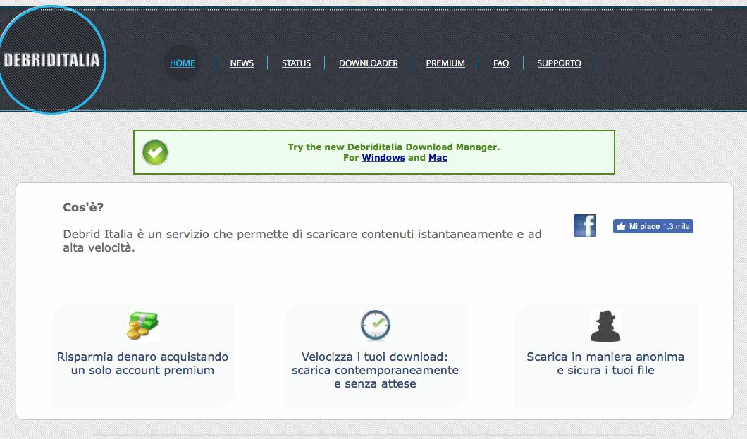 Account premium: generatore di link multi host - Why-Tech