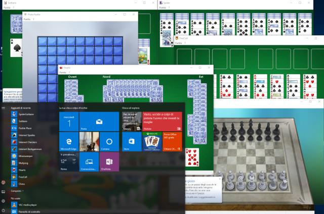 Come riavere i vecchi giochi di Windows XP e 7 anche su Windows 10
