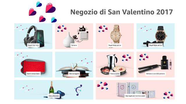 Amazon apre uno store per San Valentino