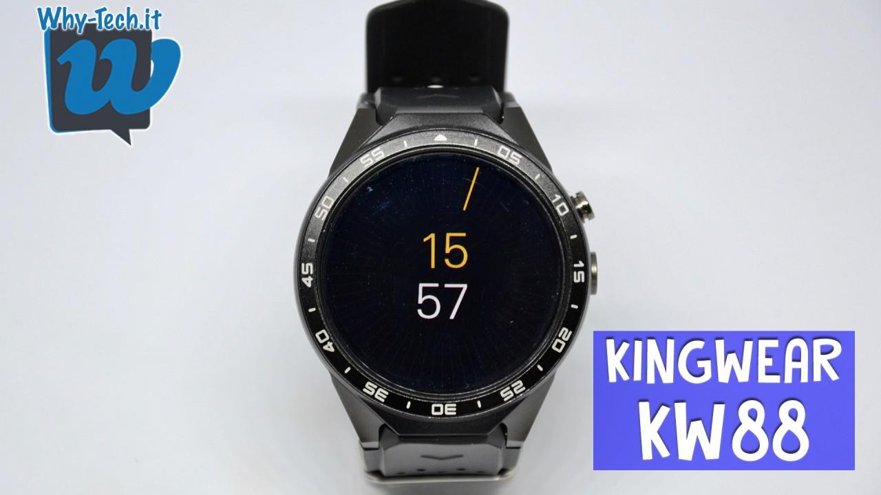 Recensione smartwatch Kingwear KW88