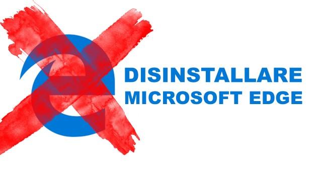 disinstallare-edge