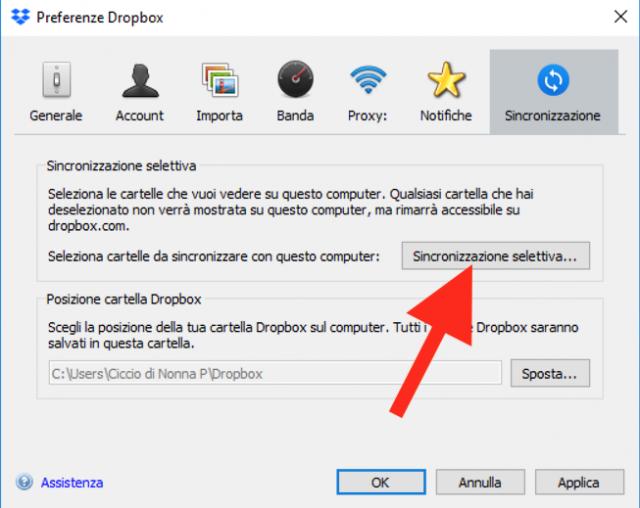 Sincronizzazione-selettiva-di-Dropbox