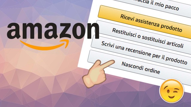 nascondere-ordini-su-Amazon