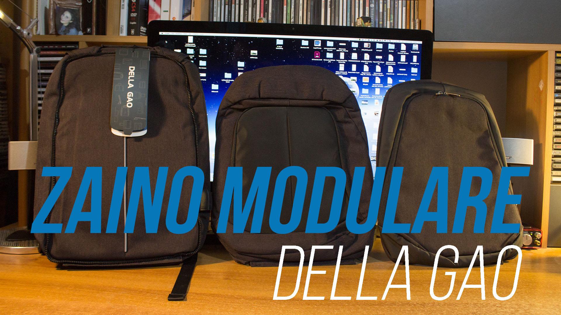 più amato 821bd b7906 Recensione Zaino modulare per notebook Della Gao - Why-Tech