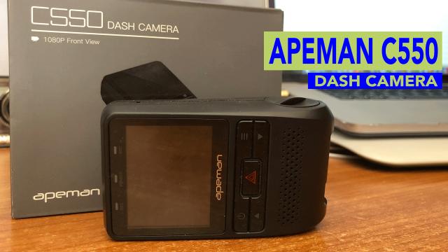 Apeman-C550-Dash-Camera