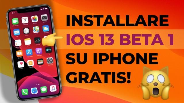 Installare-iOS-13-Beta-1