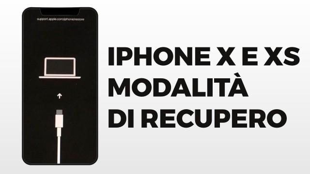 iPhone-X-Xs-modalita-di-recupero