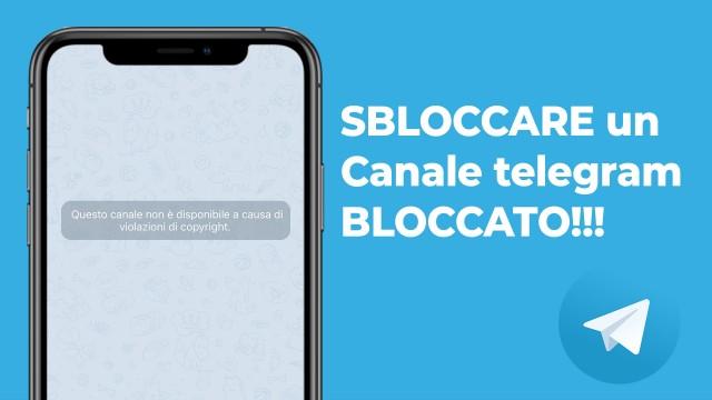 sbloccare-canale-telegram