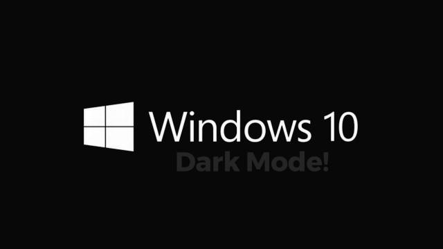 Windows-darkmode