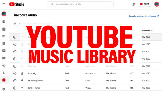 YouTube-Music-Library
