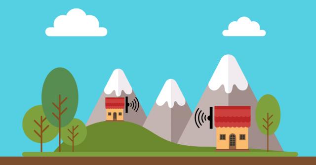 condividere la connessione internet a lunga distanza
