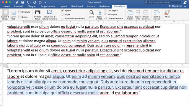 Word-come-confrontare-due-sezioni-nello-stesso-documento