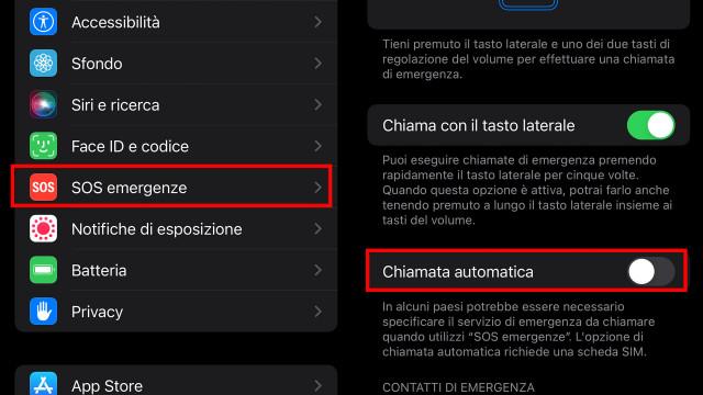 disattivare-la-chiamata-automatica-di-emergenza-iPhone