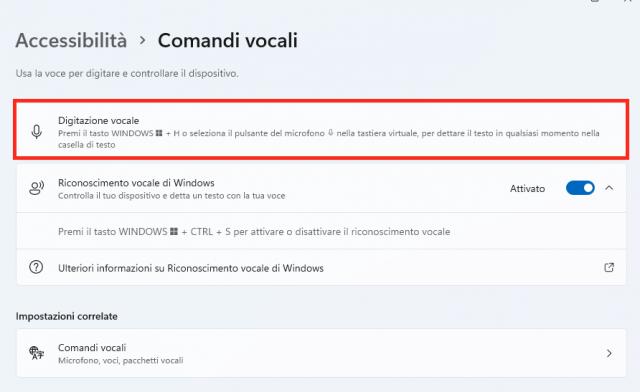 Digitalizzazione-Vocale-Windows