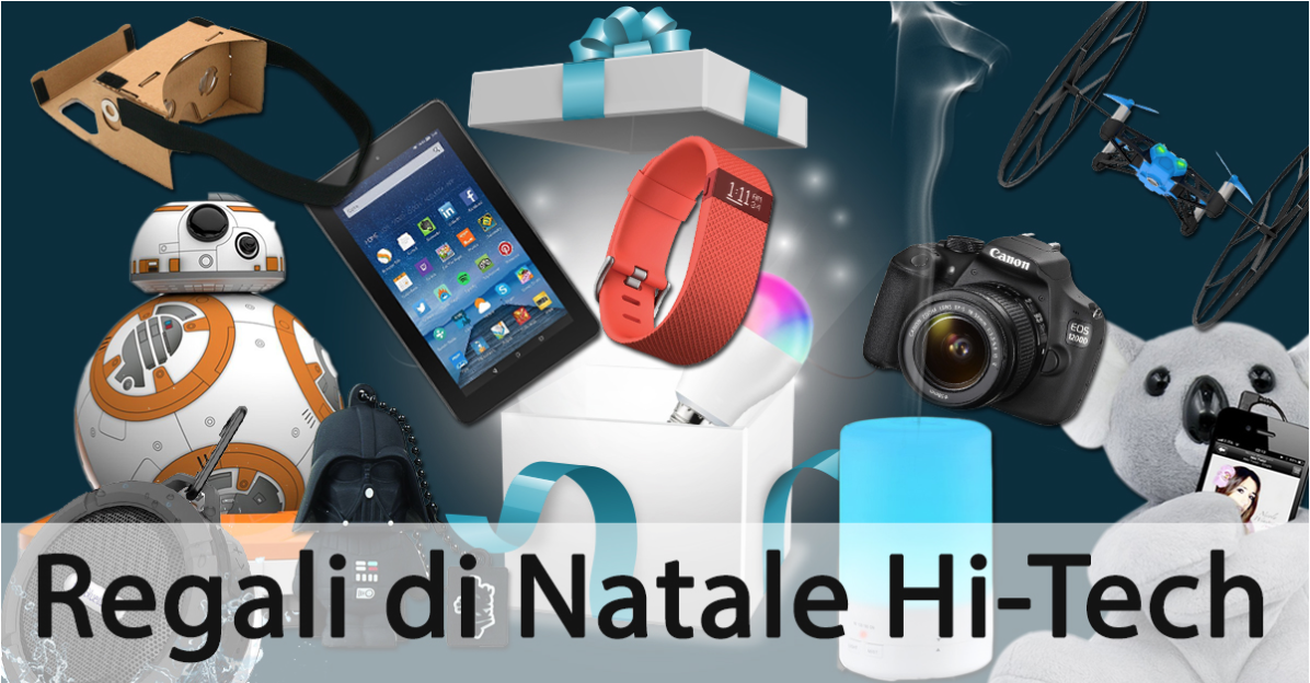 Idee regali di natale 2015 hi tech why tech for Regali hi tech