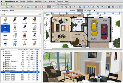 Sweet home 3d un software gratuito per aspiranti for Programmi 3d architettura