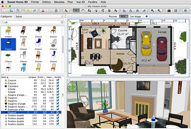 Sweet home 3d un software gratuito per aspiranti for Software planimetria casa