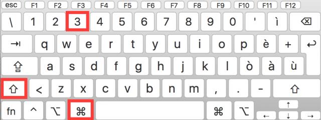 Come fare screenshot su Mac OS X