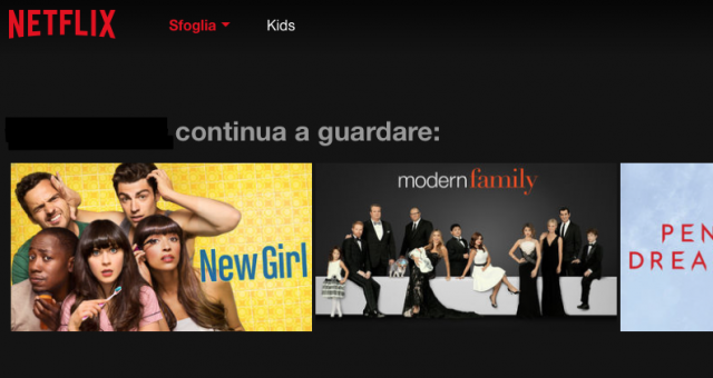"Netflix, eliminare i video da ""continua a guardare"""