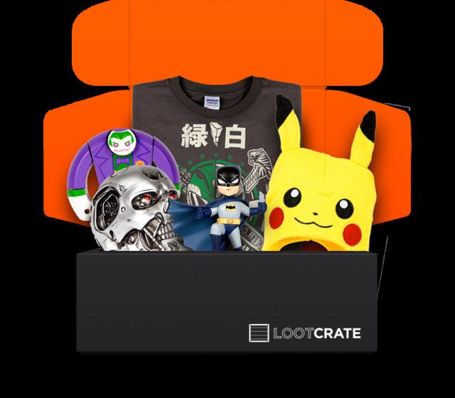 Loot Crate, come ricevere una mistery box piena di gadget direttamente a casa tua