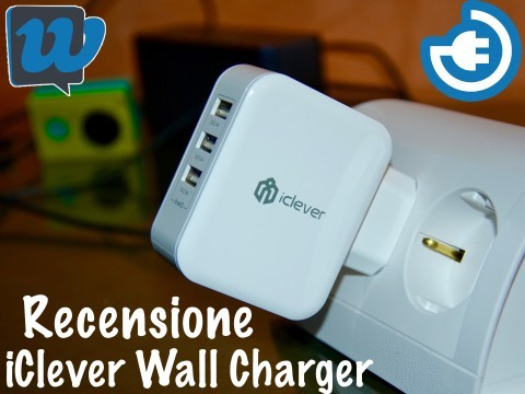 Recensione iClever USB Wall Charger