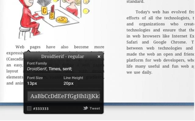 Come scoprire il font di un sito internet