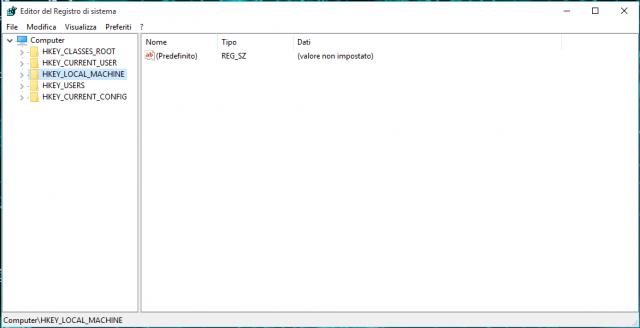 Come effettuare un backup del Registro di sistema in Windows