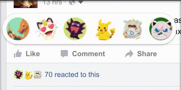 Facebook, come personalizzare le reaction