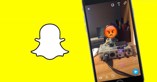 Snapchat, come aggiungere emoji animate e stickers