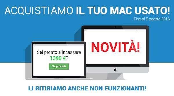 Da oggi TrenDevice ritira il tuo Mac