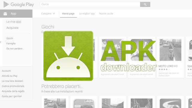 Come scaricare file APK senza accedere a Google Play