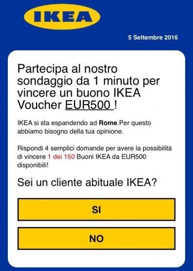 WhatsApp, occhio alla truffa del buono Ikea da 500 Euro