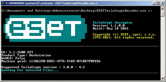Come eliminare il ransomware TeslaCrypt e decriptare tutti i file senza pagare un centesimo