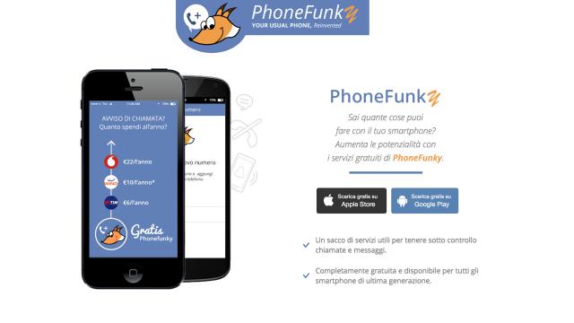 Avvisi di chiamata gratis con PhoneFunky