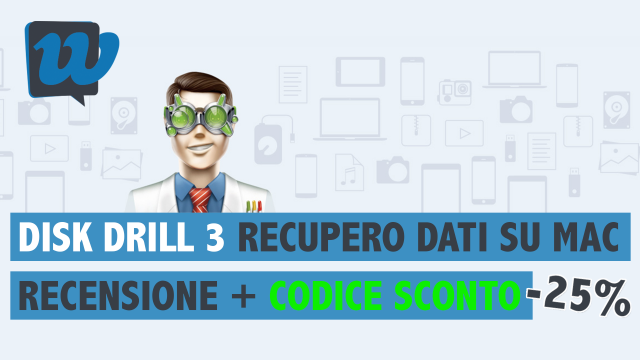 Recensione: Disk Drill 3 per Mac