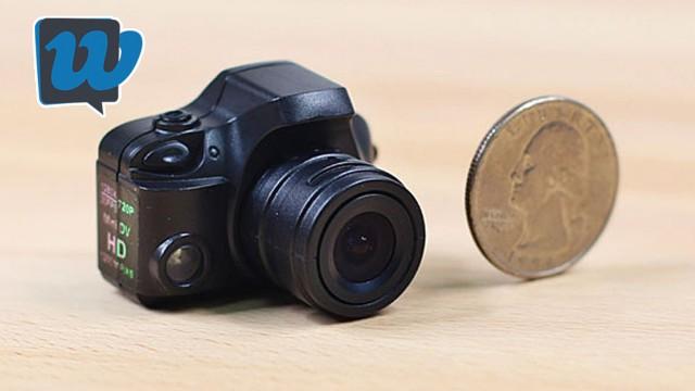 La fotocamera più piccola al Mondo - Recensione F5000