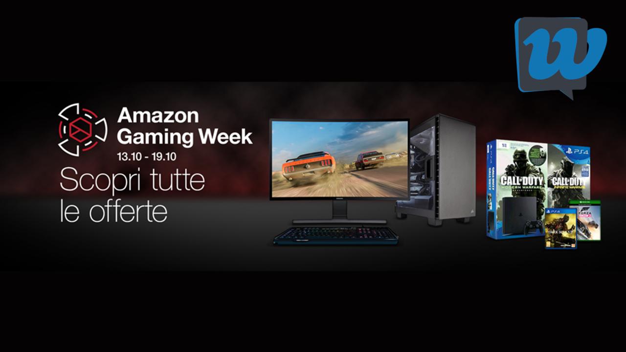 Amazon gaming week 2016 sconti e offerte per i for Sconti per amazon