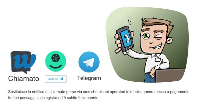 """Il servizio"""" ti ho cercato"""" gratis con un bot Telegram"""