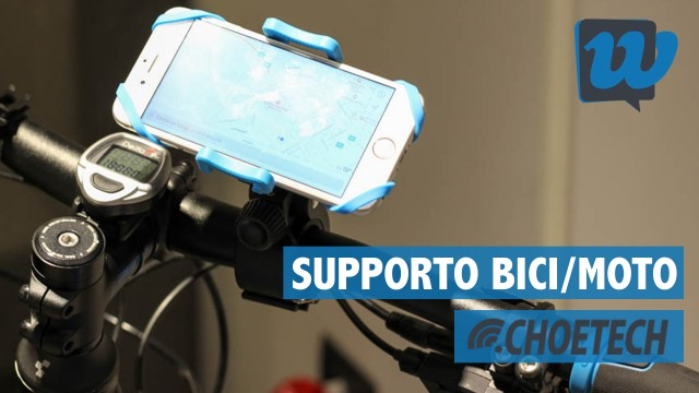 Recensione supporto smartphone per bici/moto CHOETECH