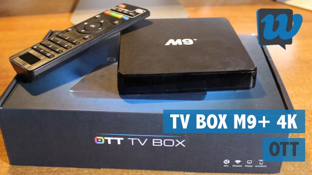 Recensione TV Box Android OTT M9+ 4K