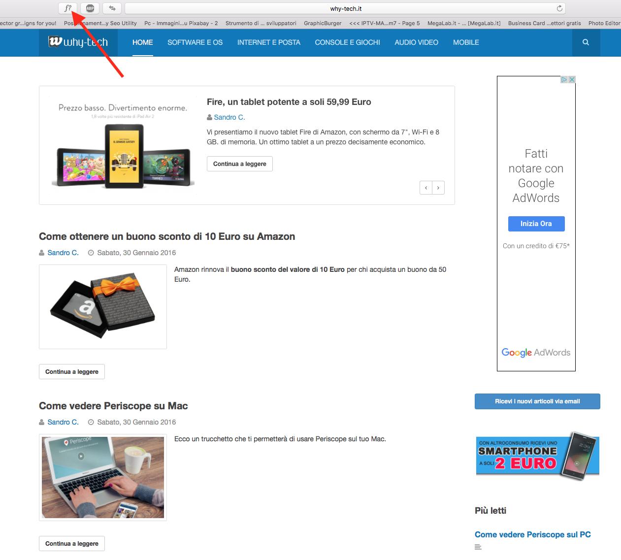 Come scoprire il font di un sito internet - Blog di Informatica e ...