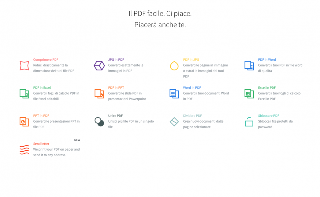 Crea, unisci, modifica e gestisci i tuoi file PDF gratis e senza installare software