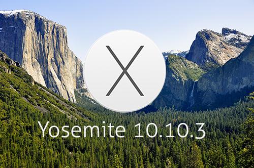 Aggiornamento a Yosemite 10.10.3