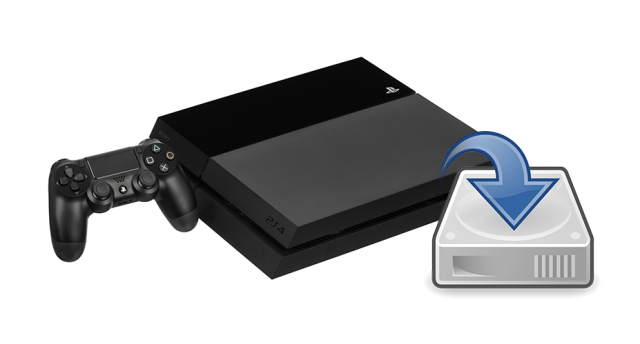 Eseguire un backup completo con la Playstation 4